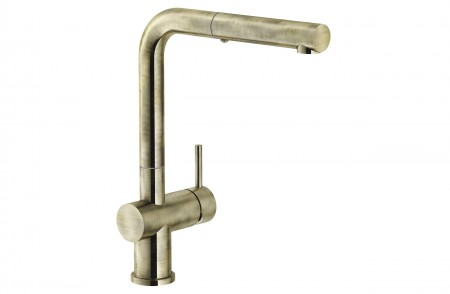 Grifo cocina Active Plus Color Pull-Out bronce extraíble Franke
