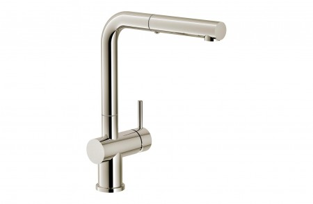 Grifo cocina Active Plus Color Pull-Out Polished Nickel extraíble Franke